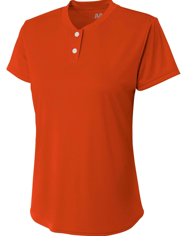 A4 Drop Ship NW3143 - Ladies' Tek 2-Button Henley Shirt