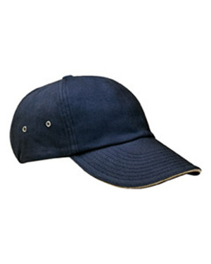 Adams Caps CT102  6-Panel Low-Profile Ultra Heavyweight Brushed Twill Sandwich Cap