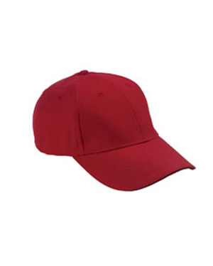 Adams Caps PE102  6-Panel Structured Moisture Management Cap