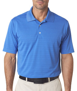 ADIDAS A161 - Men's ClimaLite Textured Solid Polo