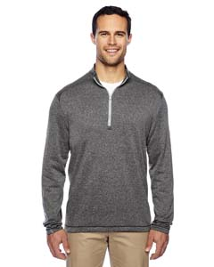 Adidas Golf A274 - Brushed Terry Heather Quarter Zip