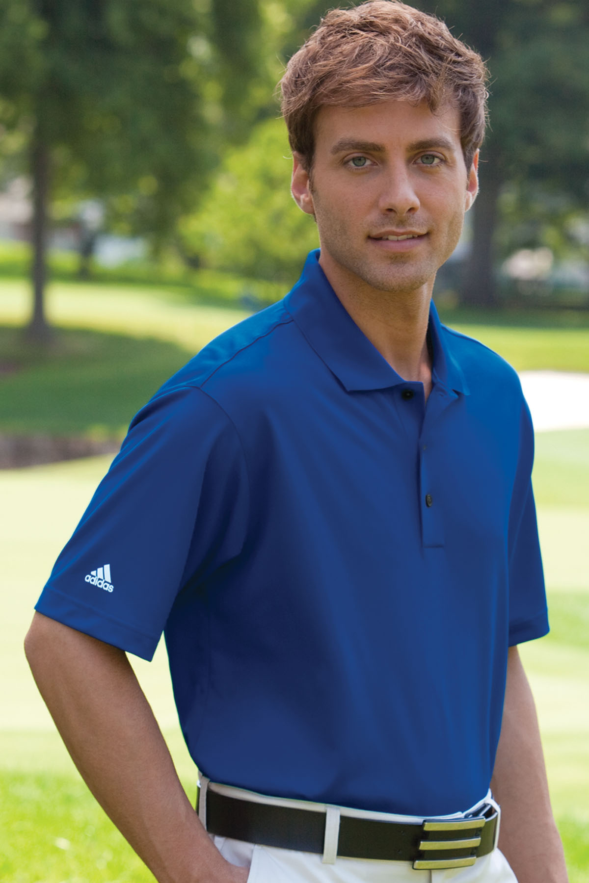 adidas ADIDA130 - ClimaLite® Basic Short Sleeve Polo