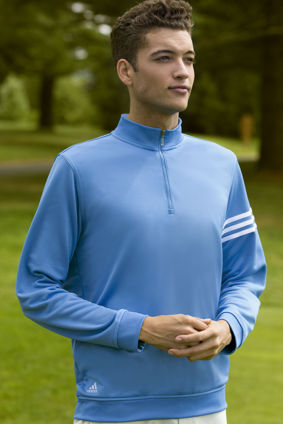 adidas ADIDA190 - ClimaLite® 3-Stripes Pullover