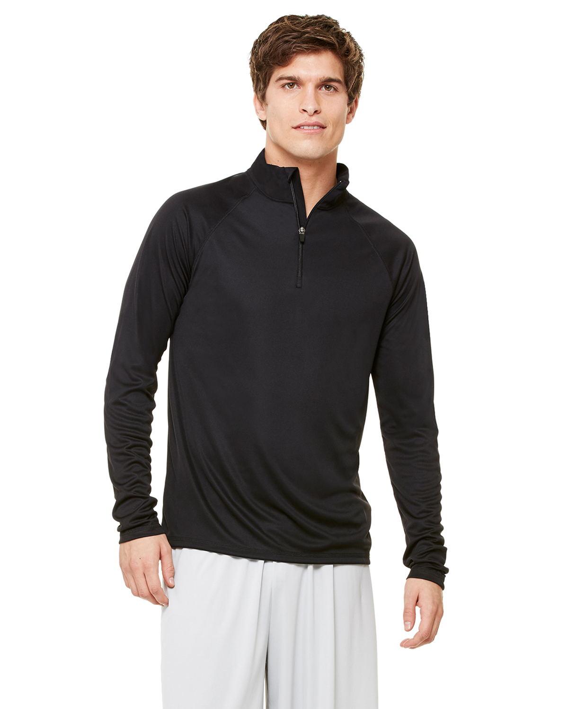 alo - Ladies' Quarter Zip Lightweight Pullover