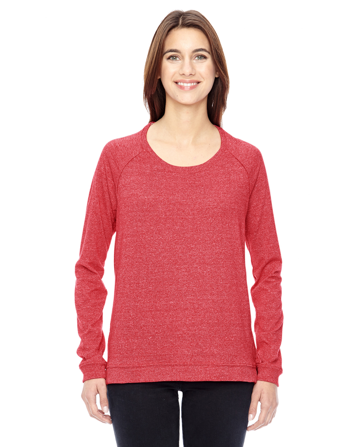 Alternative 01919E - Ladies' Eco-Mock Twist Locker Room Pullover