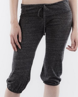 Alternative 01985E1 - Ladies' Eco-Jersey Cropped Pants