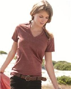 Alternative 1932 Boss Eco Jersey Unisex V-Neck T-Shirt