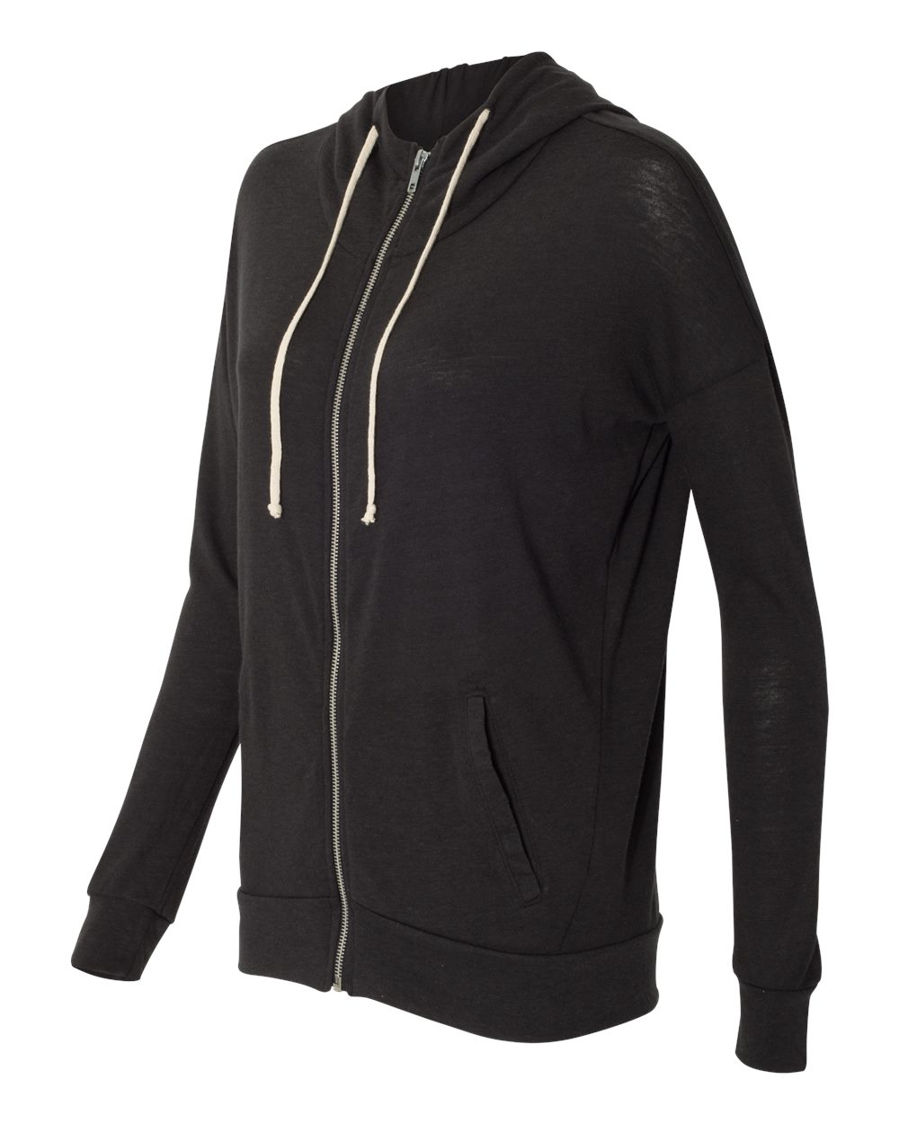 Alternative 2896 - Women's Eco Jersey Cool Down Hooded Full-Zip