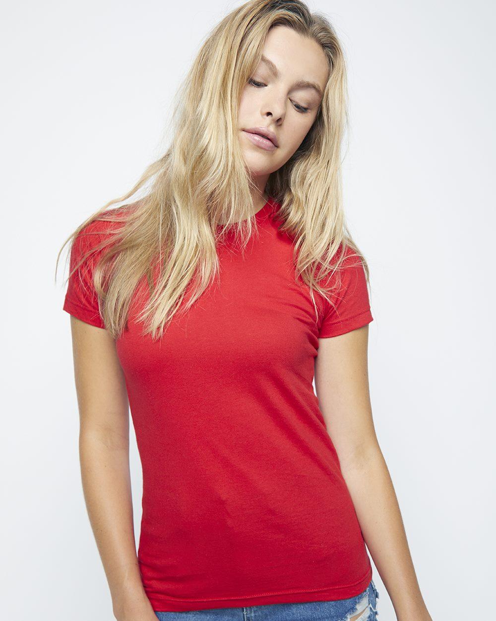 American Apparel 2102W - Women's Fine Jersey T-Shirt