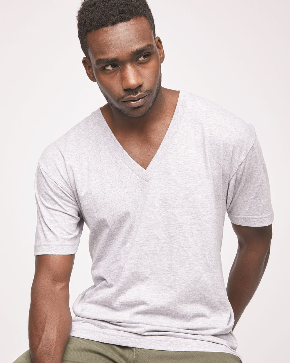 American Apparel 2456W - Fine Jersey V-Neck T-Shirt