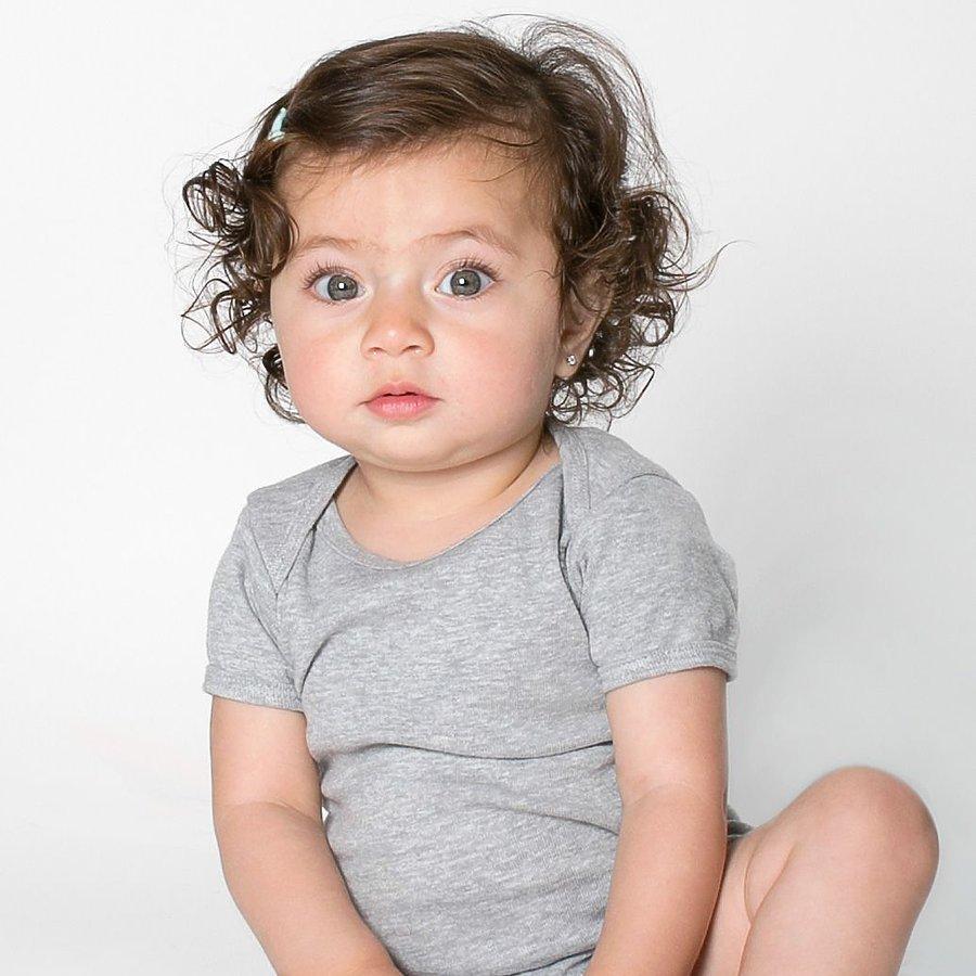 American Apparel 4001 - Infant Baby Rib One Piece - USA