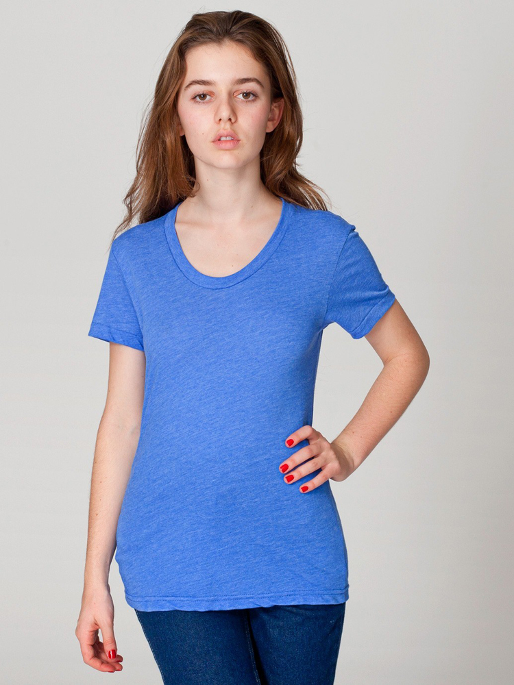 American Apparel BB301 - Womens' Poly Cotton Short-Sleeve Tee