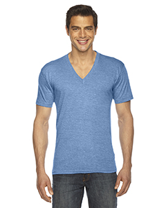 American Apparel TR461W - Unisex Triblend Short-Sleeve V-Neck T-Shirt