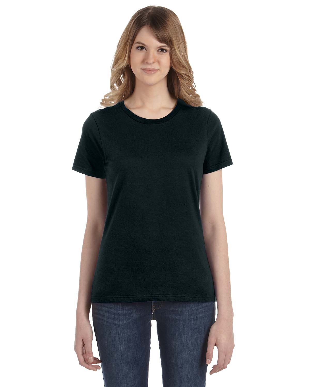 Anvil 880 Ladies' Ringspun Fashion Fit T-Shirt