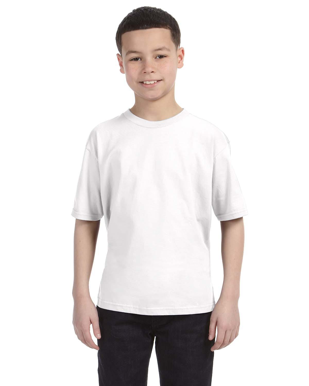 Anvil 990B Youth Ringspun Fashion Fit T-Shirt