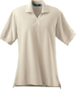 Ash City Textured 125267 - Ladies' Johnny Collar Ottoman Polo