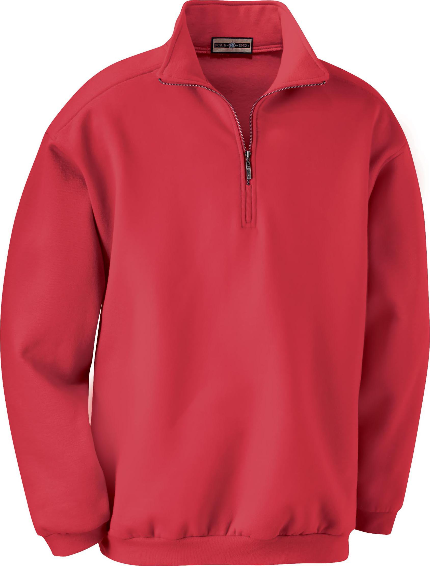 Ash City Cotton/Poly Fleece 221442 - Men's Classical Cotton Blend Fleece Half-Zip