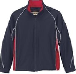 Ash City Lifestyle Athletic Separates 68007 - Youth Woven Twill Athletic Jacket