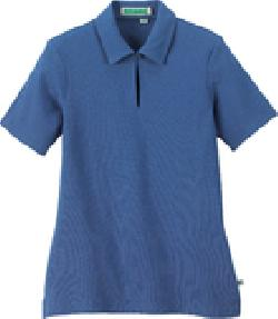 Ash City e.c.o Knits 75064 - Ladies' Organic Cotton Pique Polo