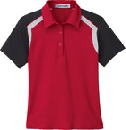 Ash City Jersey 75065 - Ladies' Edry Color-Block Polo