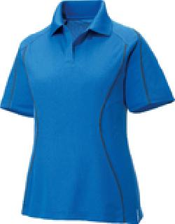 Ash City Eperformance 75107 - Velocity Ladies' Snag Protection Color-Block Polo With Piping