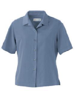 Ash City Polynosic 77006 - Ladies' Polynosic Short Sleeve Capri Shirt