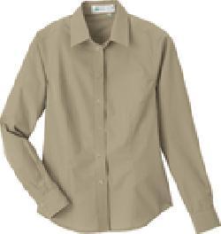 Ash City e.c.o Wovens 77024 - Ladies' Rayon (from Bamboo) Long Sleeve Shirt