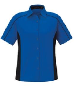 Ash City Twill 77042 - Fuse Ladies' Color-Block Twill Shirt