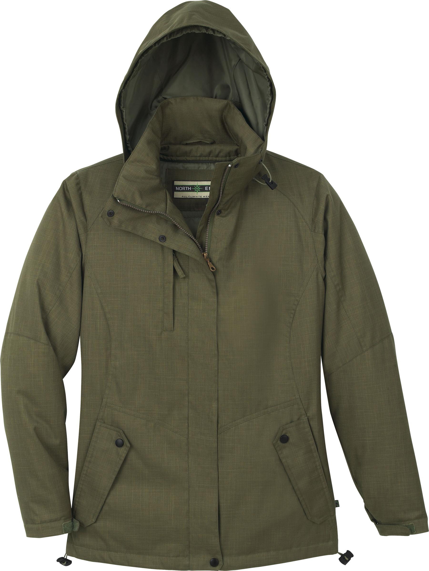 Ash City e.c.o Outerwear 78074 - Ladies' Recycled Polyester Insulated Textured Jacket