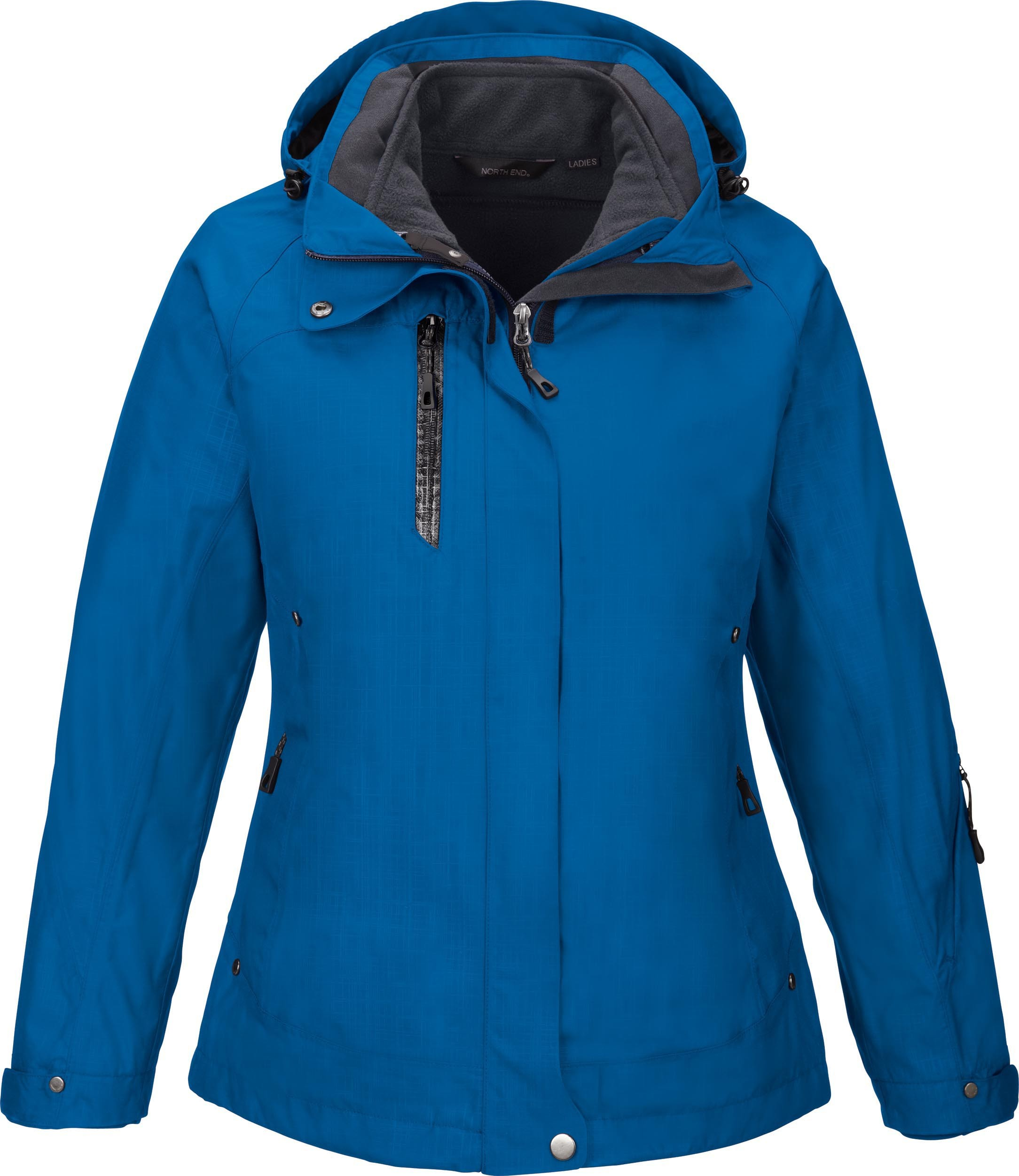 Ash City UTK 2 Warm.Logik 78178 - Caprice Ladies' 3-In-1 Jacket With Soft Shell Liner