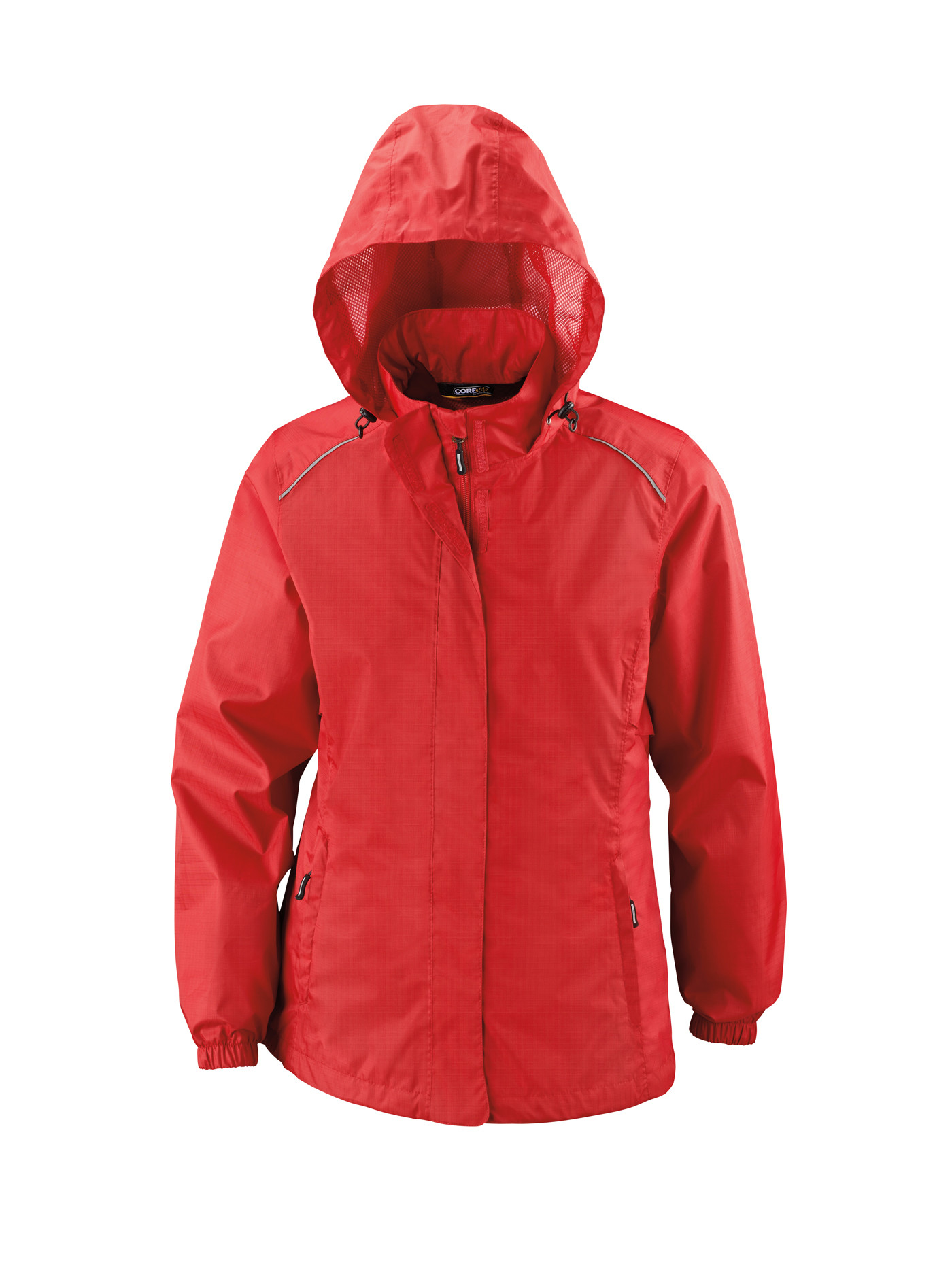 Ash City Core365 78185 - Climate Core365 Ladies' Seam-Sealed Lightweight Variegated Ripstop Jacket