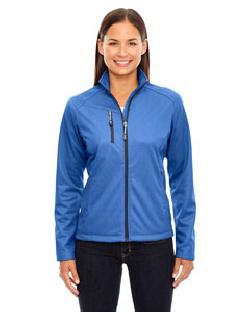 Ash City North End 78213 - Ladies' Trace Printed Fleece Jacket