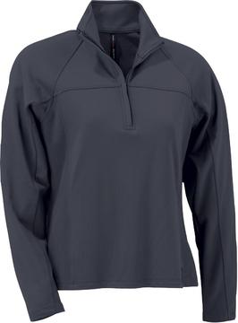 Ash City Jersey 78601 - Ladies' Brushed Back Jersey Half Zip Knit Top