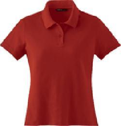 Ash City Pique 78620 - Ladies' Cotton Spandex Pique Knit Top