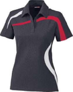 Ash City Performance 78645 - Impact Ladies' Performance Polyester Pique Color-Block Polo