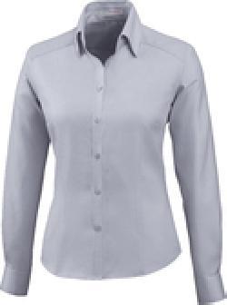 Ash City Wrinkle Free 78646 - Ladies' Wrinkle Free 2-Ply 80's Cotton Stripe Jacquard Taped Shirt