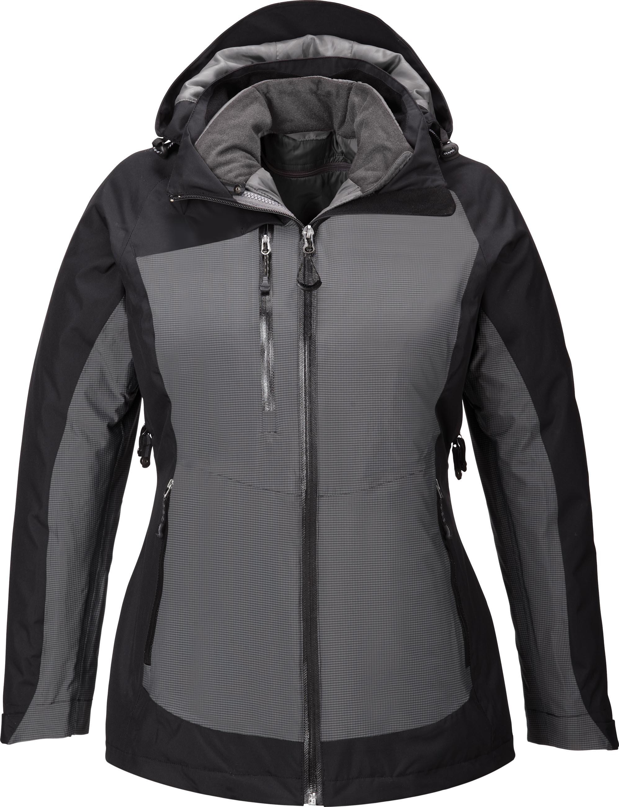 Ash City UTK 3 Warm.Logik 78663 - Alta Ladies' 3-In-1 Seam-Sealed Jacket With Insulated Liner