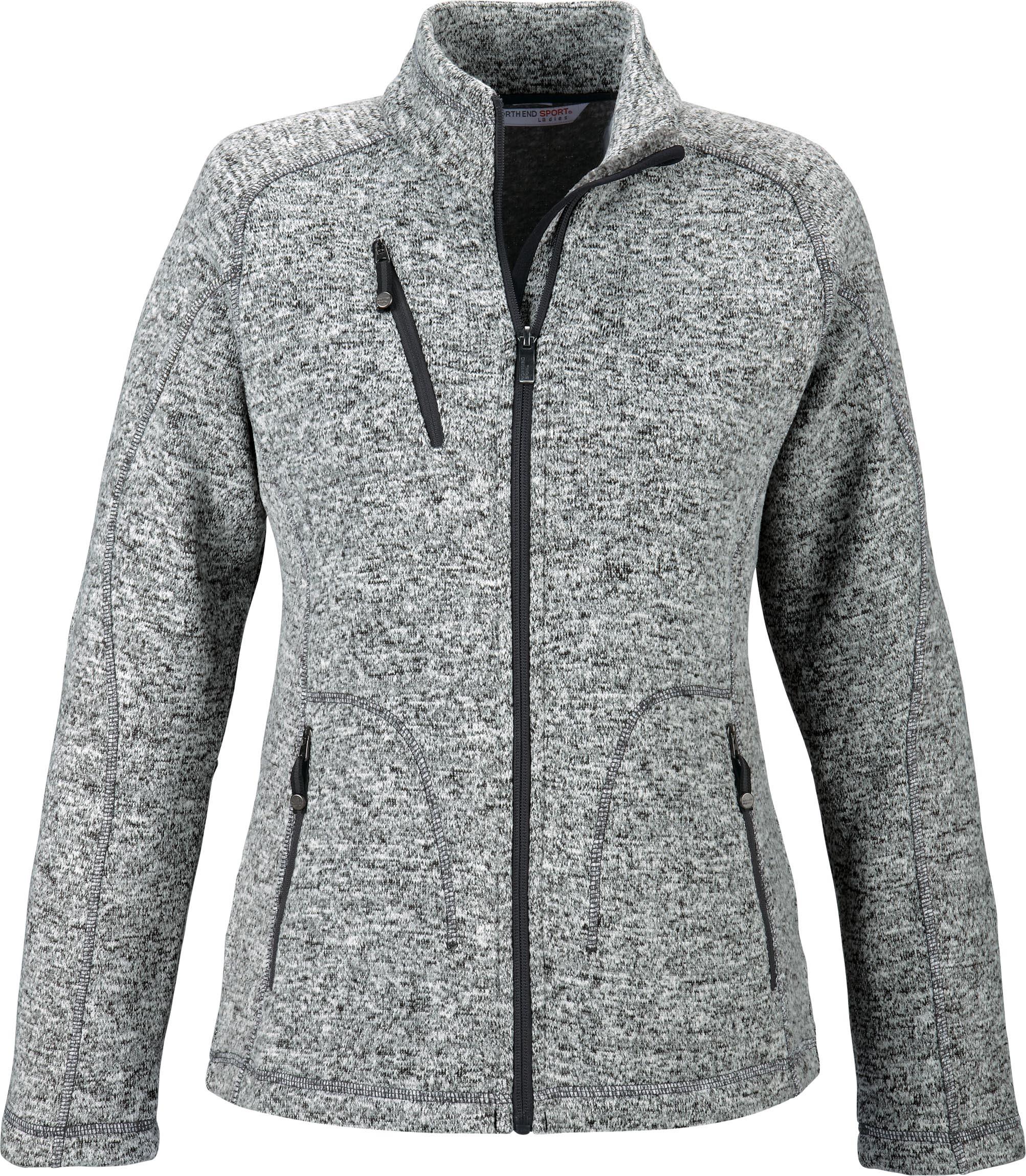 Ash City Poly Fleece 78669 - Peak Ladies' Sweater Fleece ...
