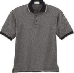 Ash City Mercerized 85018 - Men's Pebble Jacquard Polo