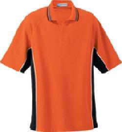Ash City Pique 85057 - Men's Checker Trim Pique Polo