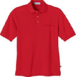 Ash City Pique 85074 - Men's One-Pocket Short Sleeve Pique Polo Polo With Teflon
