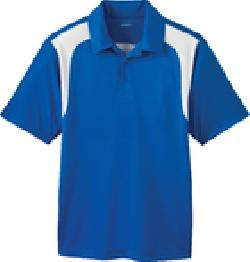 Ash City Textured 85105 - Men's Eperformance Color-Block Textured Polo