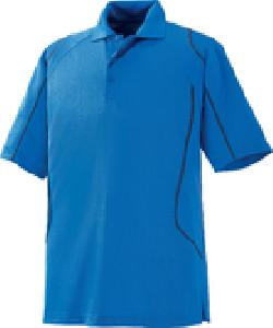 Ash City Eperformance 85107 - Velocity Men's Snag Protection Color-Block Polo Wit Piping