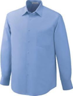 Ash City Wrinkle Resistant 87037 - Luster Men's Wrinkle Resistant Cotton Blend Poplin Taped Shirt