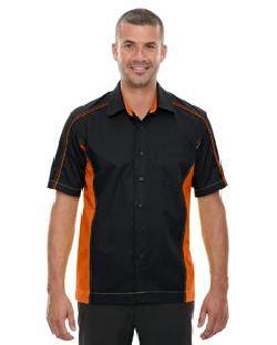 Ash City North End 87042T - Men's Tall Fuse Colorblock Twill Shirt