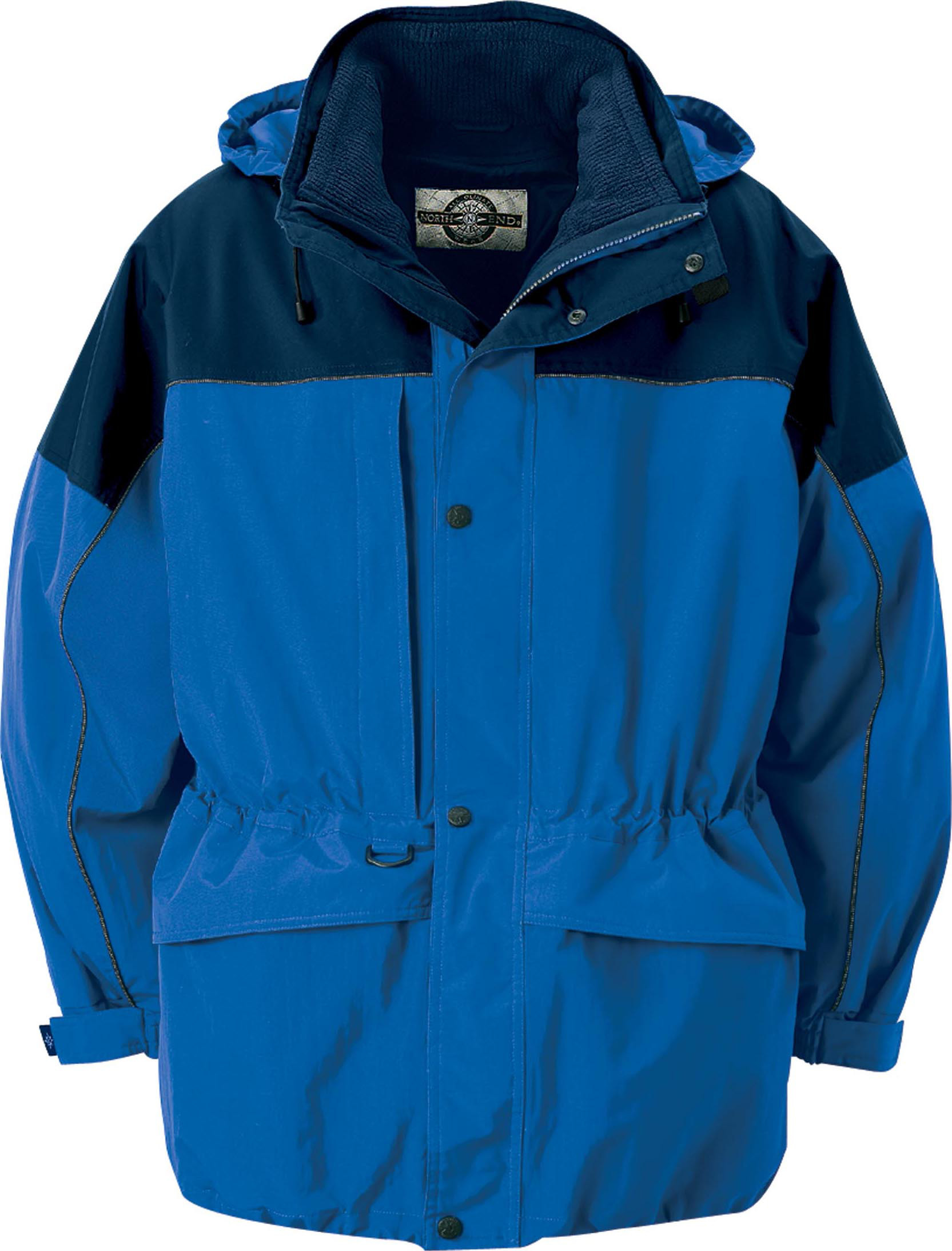 Ash City UTK 3 Warm.Logik 88006 - Men's 3-In-1 Two-Tone Parka