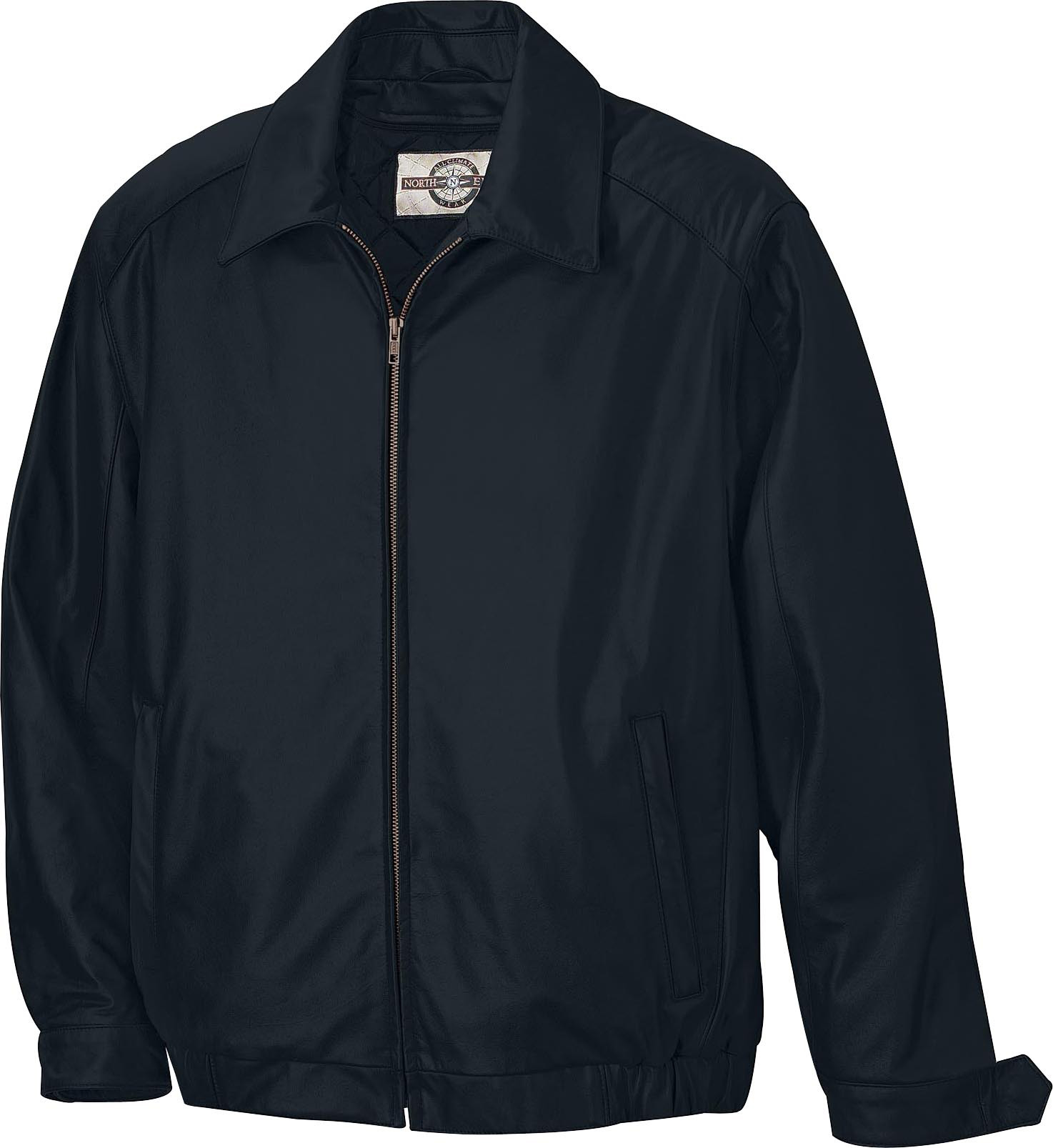Ash City UTK 1 Warm.Logik 88112 - Men's Leather Bomber Jacket