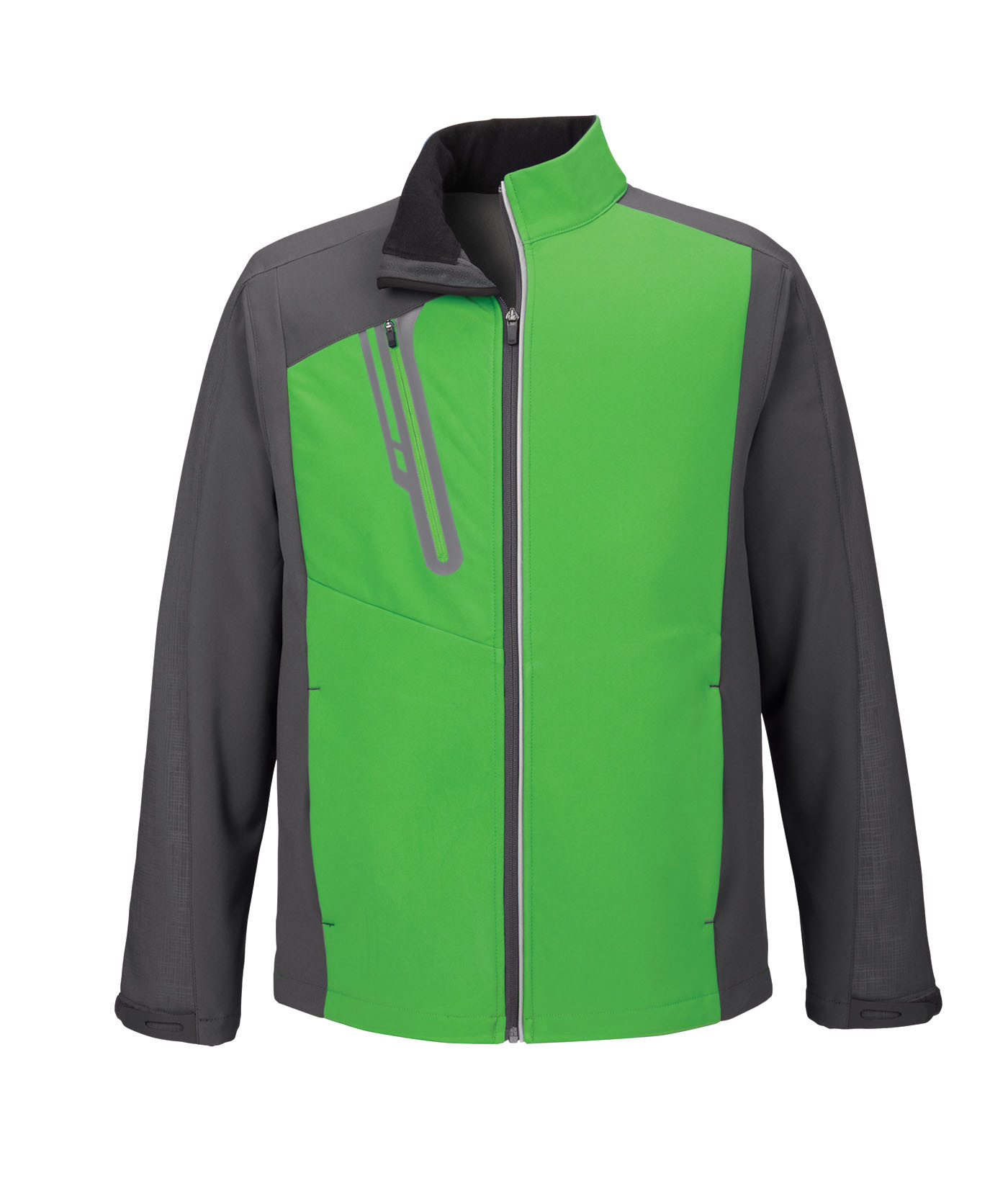 Ash City UTK 1 Warm.Logik 88176 - Terrain Men's Color-Block Soft Shell With Embossed Print