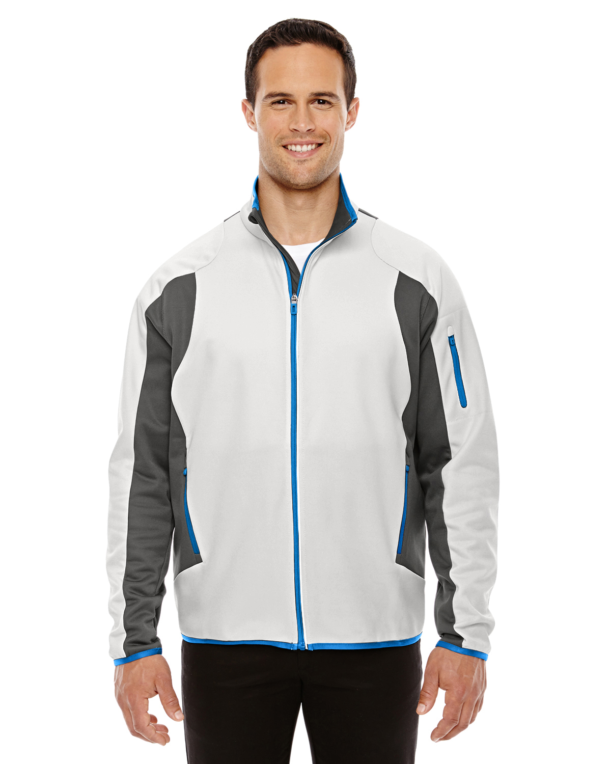Ash City - North End 88230 - Men's Motion Interactive ColorBlock Performance Fleece Jacket