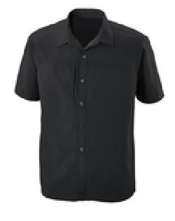 Ash City e.c.o Wovens 88675 - Charge Men's Recycled Polyester Performance Short Sleeve Shirt